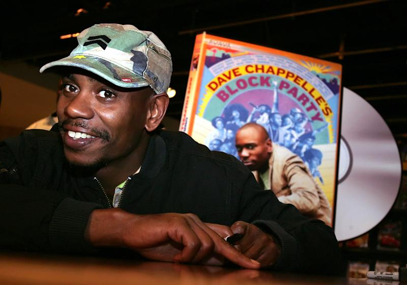 Dave Chappelle to headline monthlong comedy tour