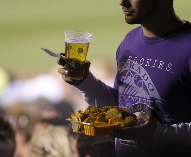 Nachos were our surprise No. 1. (AP Photo/Ed Andrieski)
