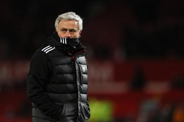 History suggests Jose Mourinho won't win the league with Manchester United