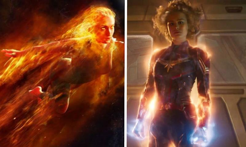 Dark Phoenix's ending as changed because it was too similar to Captain Marvel (Credit: Fox/Disney)