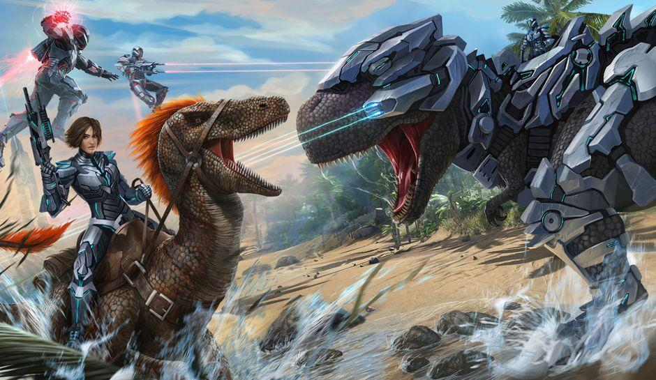 ARK: Survival Evolved' PC Hosted Servers For PS4 And Xbox One Plus