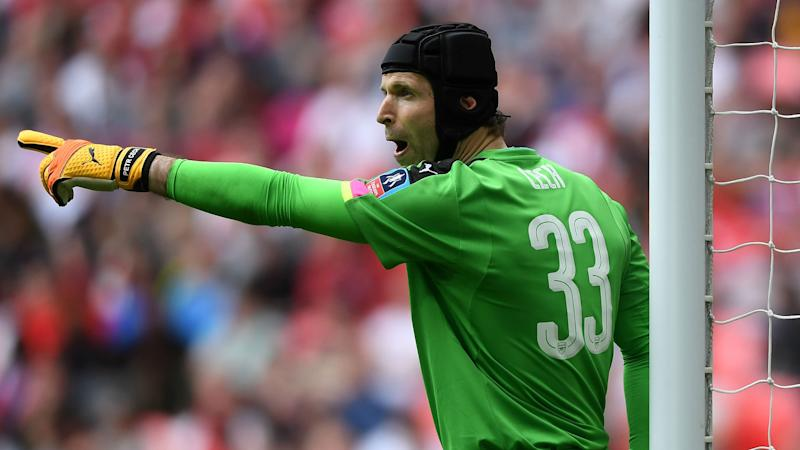 Cech hoping for FA Cup joy against old friends when Arsenal face Chelsea