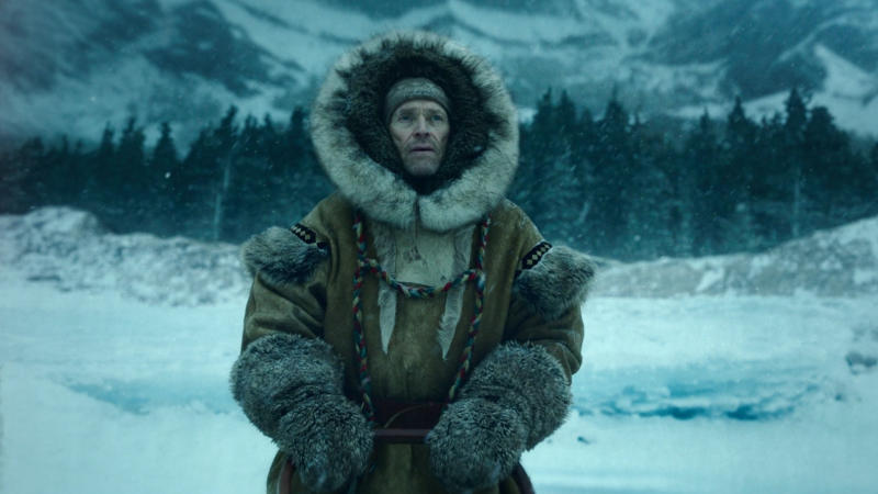 Willem Dafoe as musher Leonhard Seppala in 'Togo'. (Credit: Disney+)