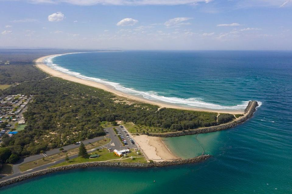 <p>Tuncurry Beach, New South Wales, Australia</p> (Getty Images/iStockphoto)
