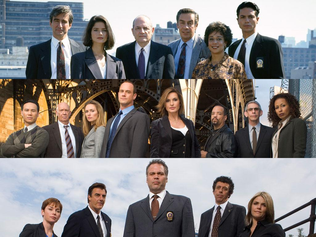 "Before the franchise became a chalk outline of itself, ""Law & Order"" hacked at the Gordian knot of social issues and criminal passions with crisp writing, urban naturalism, and the quintessential New York cast of characters.<br><br>And oh what a cast. Not just those who played the police who investigated the crime and the district attorneys who prosecuted the offenders. We mean the villains, the victims, the poor shlubs jogging or arguing or making out in an alley when they accidentally stumbled on a corpse. Like soap operas, ""Law & Order"" has been the Dick Wolf school for actors for more than two decades. Here's just a few of the now-famous alumni who did their time.<br><br><em>Shorthand guide to ""Law & Order"" shows: ""L&O"" (the original), ""SVU"" (Special Victims Unit), ""CI"" (Criminal Intent), ""TBJ"" (Trial by Jury)</em>"