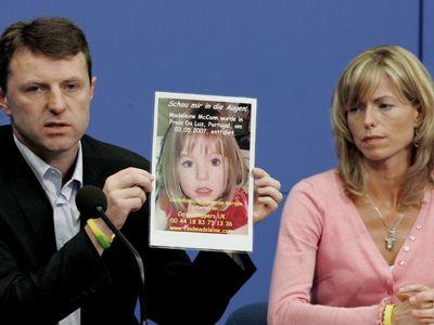 Kate and Gerry McCann (pictured) Photo: Supplied