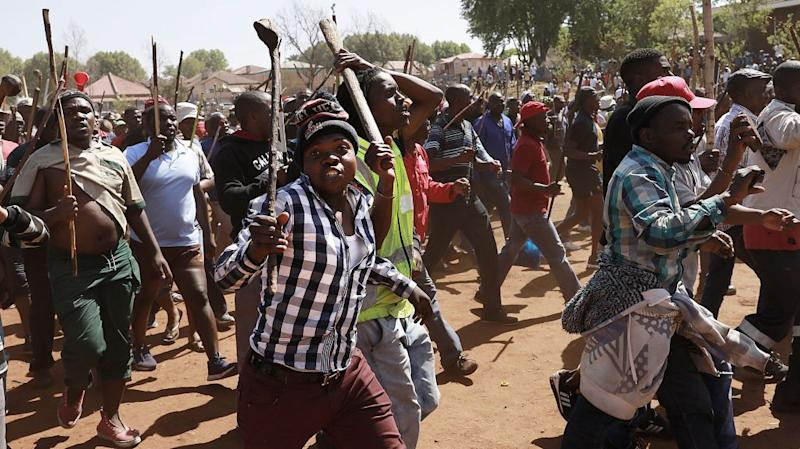 South Africa Unrest