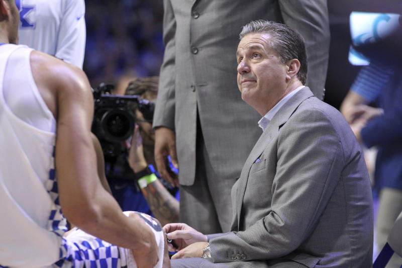 Calipari Says Kentucky Not Associated with Agent