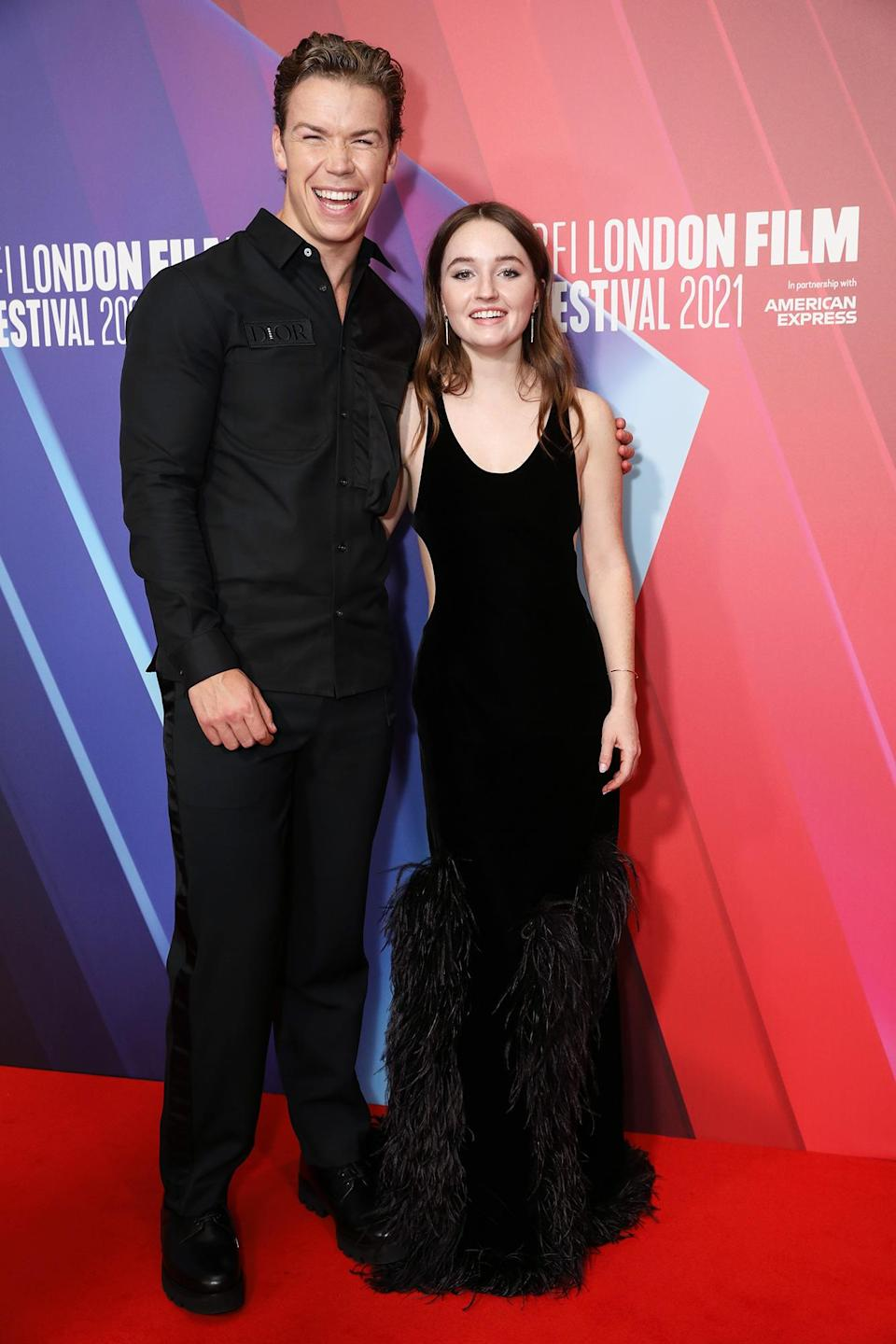 <p>Will Poulter and Kaitlyn Dever attend the <em>Dopesick</em> premiere at the BFI London Film Festival on Oct. 13 in London.</p>