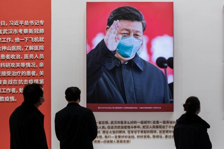 Celebrated at home for throttling the spread of the coronavirus pandemic, Chinese President Xi Jinping will headline the virtual Davos forum