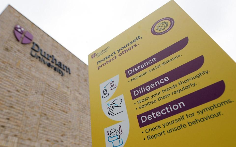 Durham University is investigating the incident - Lee Smith/Reuters