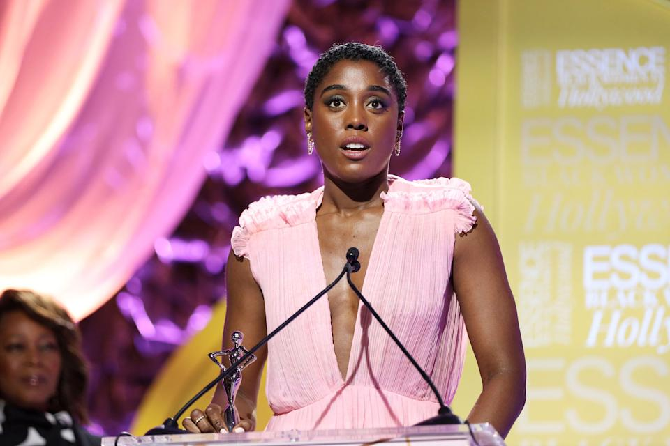 Lashana Lynch, ici à Beverly Hills en Californie, le 6 février 2020. (Photo: Rich Polk / AFP)