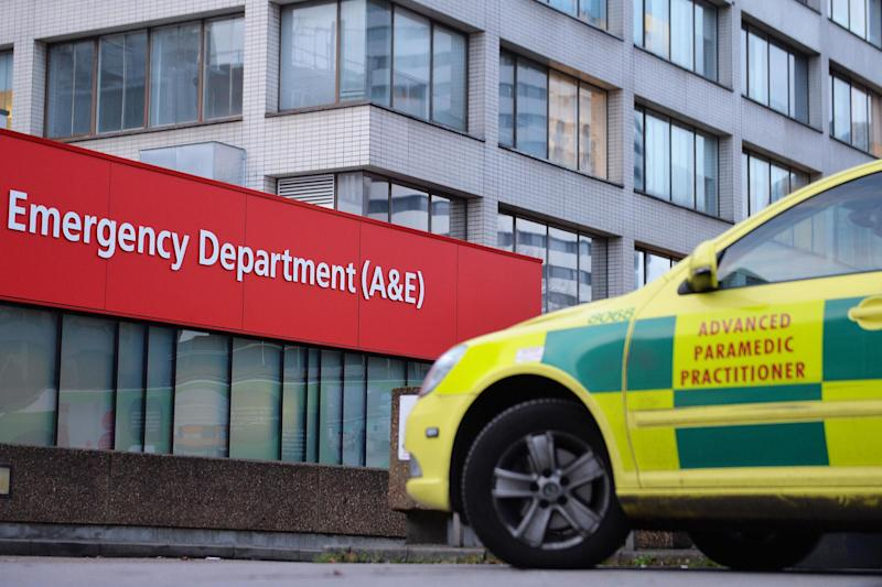 Jeremy Hunt has apologised to patients who have had operations delayed as a result of winter pressures in the NHS in England: PA