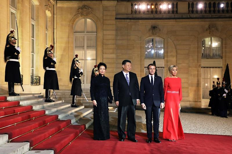 Xi's visit poses a particular challenge for Macron, who wants to deepen EU ties with China while pushing back against Beijing's growing global clout (AFP Photo/ludovic MARIN)