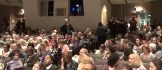 Photo: YouTube screenshot of John King event in Poughkeepsie/Mert Melfa