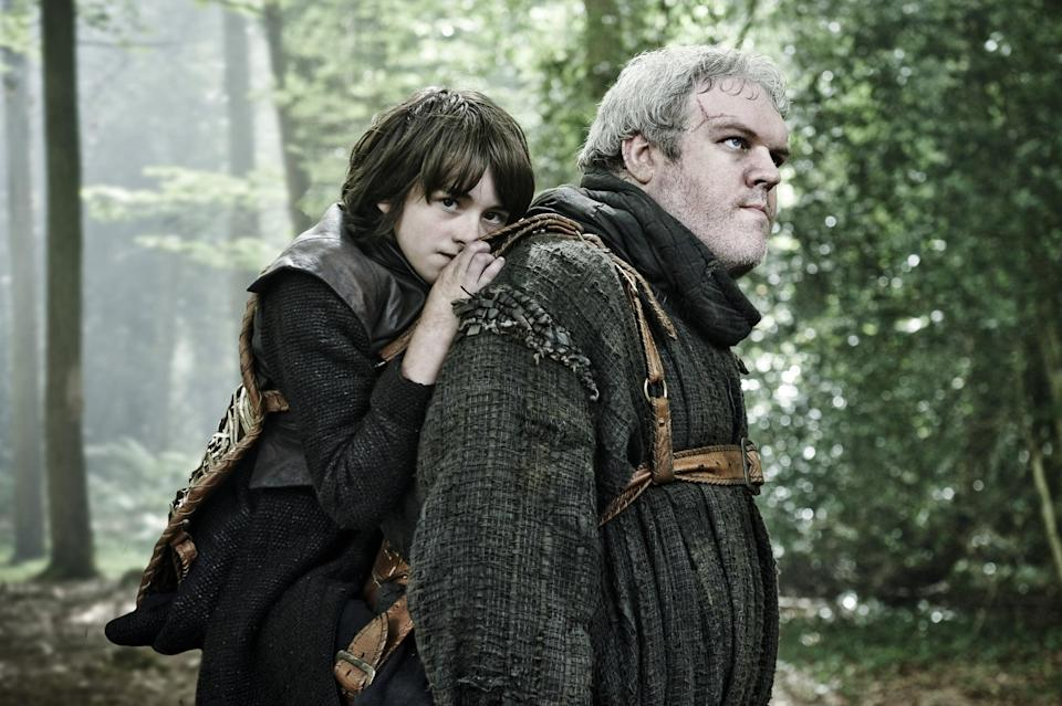 """<ul> <li><strong>What to wear for Bran:</strong> Brown clothing with a brown vest; fur shoulder pads option.</li> <li><strong>What to wear for Hodor:</strong> A gigantic brown robe.</li> </ul> <p>Related: <a href=""""https://www.popsugar.com/smart-living/DIY-Halloween-Costumes-Women-35595126?utm_medium=partner_feed&utm_source=yahoo_publisher&utm_campaign=related%20link"""" rel=""""nofollow noopener"""" target=""""_blank"""" data-ylk=""""slk:Feelin&apos; Crafty? These Creative Halloween Costume Ideas Are Calling Your Name"""" class=""""link rapid-noclick-resp"""">Feelin&apos; Crafty? These Creative Halloween Costume Ideas Are Calling Your Name</a></p>"""