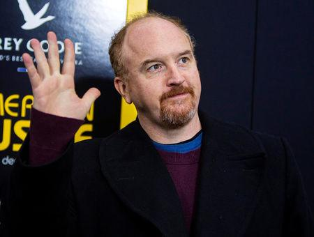 "FILE PHOTO: Cast member Louis C.K. attends the ""American Hustle"" movie premiere in New York"
