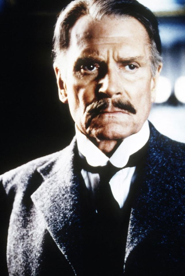 """""""<a href=""""http://movies.yahoo.com/movie/1800341117/info"""">Dracula</a>,"""" directed by John Badham  """"This one starred Frank Langella, and Olivier played [vampire hunter] Professor Abraham Van Helsing. He looked so magnificent, carved out of granite. The memorable thing, every one else was doing Transylvanian accents, and then he enters, very commanding, and it stopped being camp and schlocky. It's an underrated film."""""""