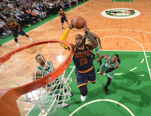 LeBron James had 36 points, 10 rebounds and six assists Wednesday night. (AP)
