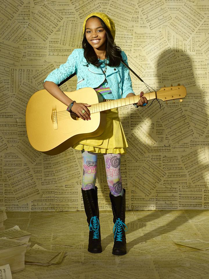 "China Anne McClain stars as Chyna in ""A.N.T. Farm."""