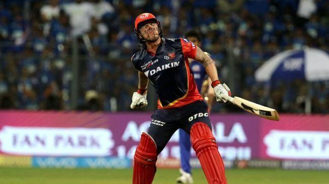 Jason Roy ecstatic after winning the match for DD against Mumbai Indians