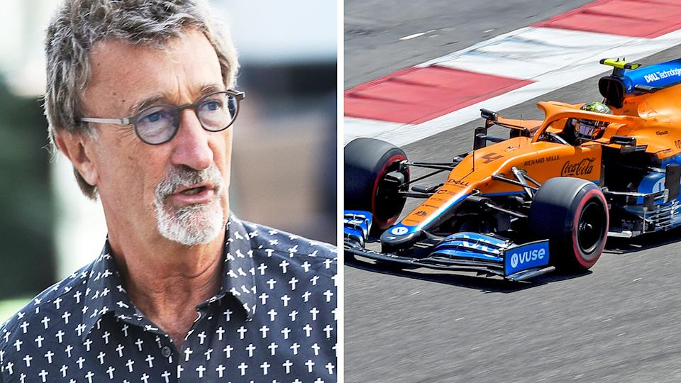 Former F1 team boss Eddie Jordan says the implementation of a new $200 million 'anti-dilution fee' will discourage new entries to the sport. Pictures: Getty Images