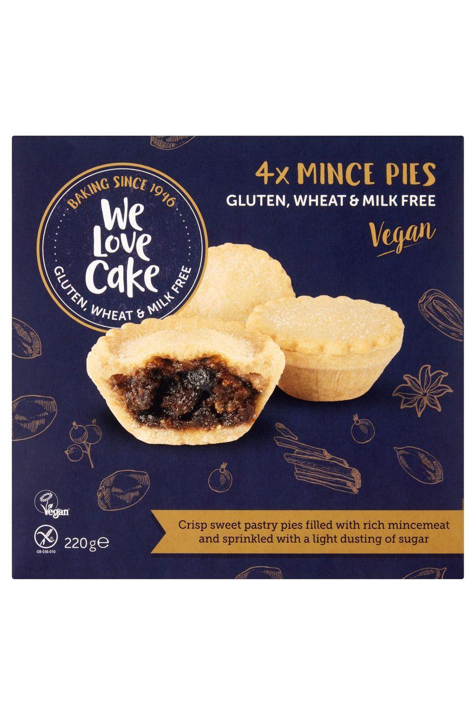 "<p><strong>Overall score: 70/100</strong></p><p>The fruity mincemeat filling and light buttery pastry aroma make this gluten-free mince pie feel traditionally festive. The moist and plump vine fruit filling is wrapped in a soft, crisp pastry, which has a gentle sweetness. However, some found the overall bite a little bland.</p><p><a class=""link rapid-noclick-resp"" href=""https://go.redirectingat.com?id=127X1599956&url=https%3A%2F%2Fwww.iceland.co.uk%2Fp%2Fwe-love-cake-4-mince-pies-220g%2F60981.html&sref=https%3A%2F%2Fwww.goodhousekeeping.com%2Fuk%2Ffood%2Ffood-reviews%2Fg23783723%2Fbuy-the-best-gluten-free-mince-pies-this-christmas%2F"" rel=""nofollow noopener"" target=""_blank"" data-ylk=""slk:BUY NOW"">BUY NOW</a> <strong>Iceland, £2 for 4 (serves 4) </strong></p>"