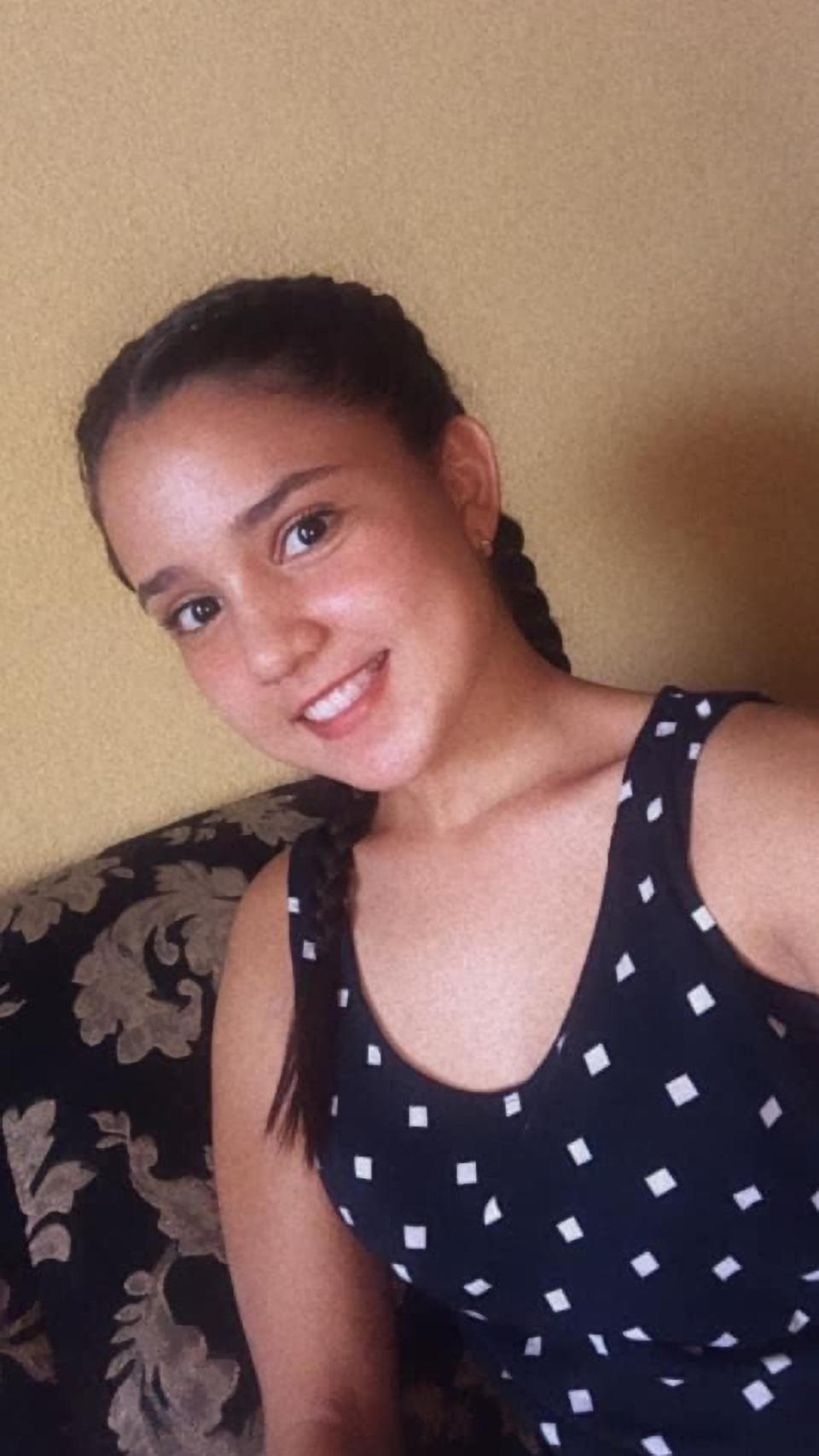 Litzy Amelia Cordon was kidnapped earlier this month. Source: Newsflash/Australscope