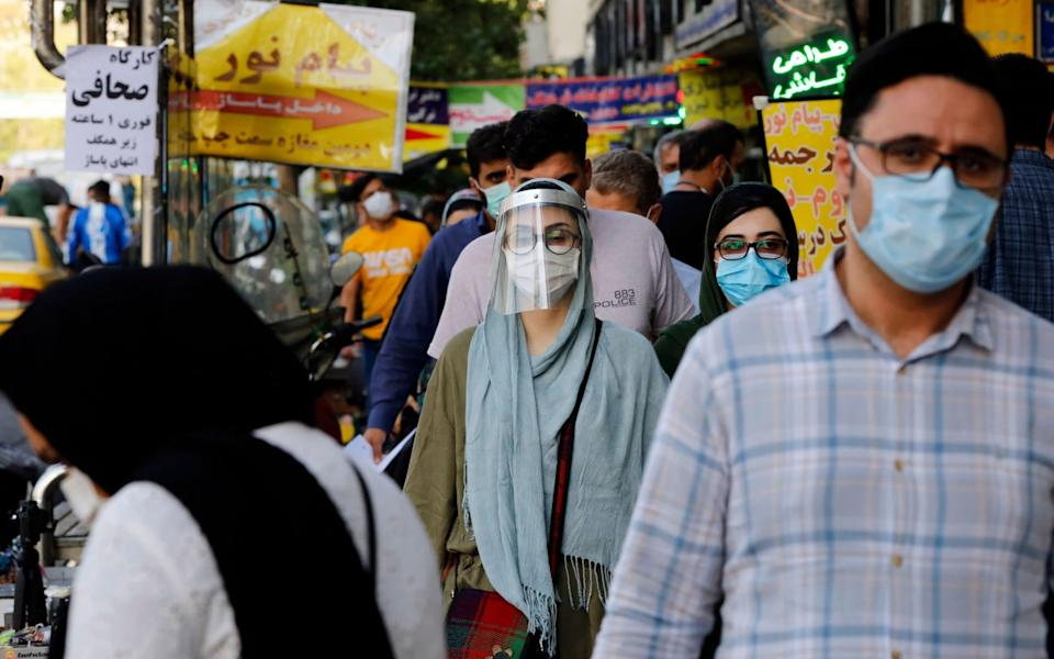 Schools, mosques, shops, restaurants and other public institutions in Tehran closed for a week on October and the governor extended the closure on Friday for another week. - Shutterstock