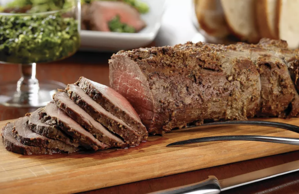 "<p>Folks in Massachusetts must be feeling fancy since beef tenderloin was their trending search of 2020. A holiday favorite, this roast (AKA filet mignon) is the most tender cut of beef. The state's second most searched recipe was for <a href=""https://www.thedailymeal.com/best-recipes/mediterranean-white-bean-bruschetta?referrer=yahoo&category=beauty_food&include_utm=1&utm_medium=referral&utm_source=yahoo&utm_campaign=feed"" rel=""nofollow noopener"" target=""_blank"" data-ylk=""slk:bruschetta"" class=""link rapid-noclick-resp"">bruschetta</a> — a popular appetizer typically made with tomatoes and basil.</p> <p><a href=""https://www.thedailymeal.com/best-recipes/roast-beef-tenderloin-with-persillade?referrer=yahoo&category=beauty_food&include_utm=1&utm_medium=referral&utm_source=yahoo&utm_campaign=feed"" rel=""nofollow noopener"" target=""_blank"" data-ylk=""slk:For a Beef Tenderloin recipe, click here."" class=""link rapid-noclick-resp"">For a Beef Tenderloin recipe, click here.</a></p>"