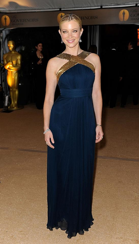 "<a href=""http://movies.yahoo.com/movie/contributor/1800019236"">Amy Smart</a> at the Academy of Motion Picture Arts and Sciences' Inaugural Governors Awards - 11/14/2009"