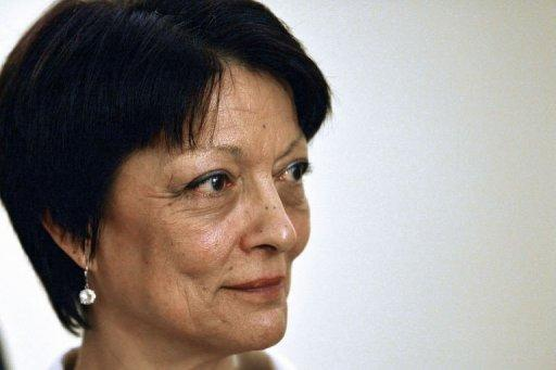 Mireille Ballestrazzi, pictured on November 5 in Rome
