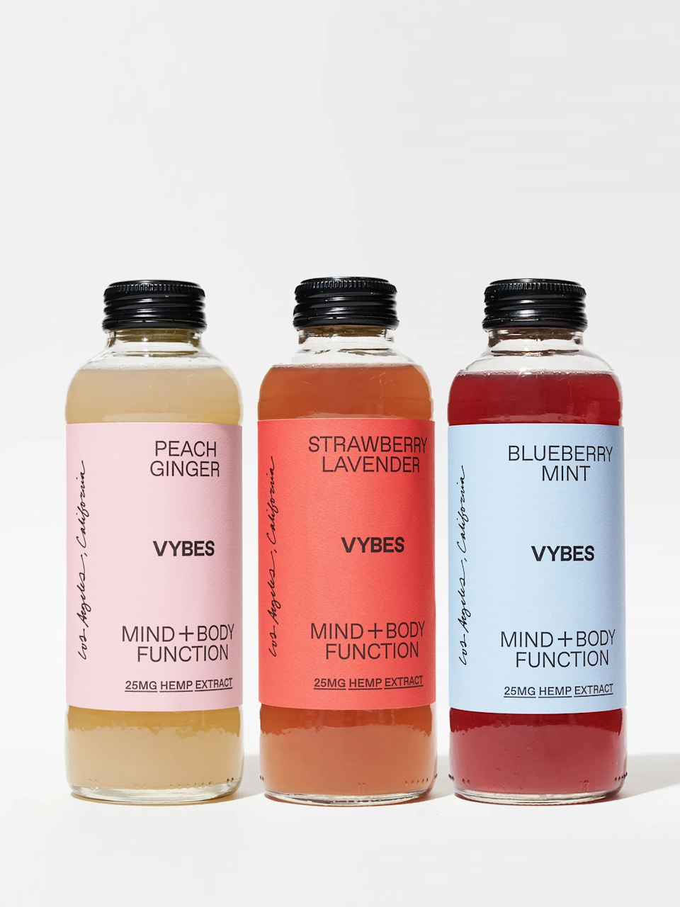 "<h3>Vybes Original Sampler</h3><br>A sampler pack from wellness-beverage brand Vybes is the perfect gift for someone who likes to keep their fridge stocked. These CBD-infused drinks are meant to help calm the body and mind and come in three refreshing flavors: Peach Ginger, Strawberry Lavender, and Blueberry Mint. <br><br><strong>Vybes</strong> Vybes Original Sampler, $, available at <a href=""https://go.skimresources.com/?id=30283X879131&url=https%3A%2F%2Fstandarddose.com%2Fcollections%2Fcbd-collection%2Fproducts%2Foriginal-sampler-vybes-drinks"" rel=""nofollow noopener"" target=""_blank"" data-ylk=""slk:Standard Dose"" class=""link rapid-noclick-resp"">Standard Dose</a>"
