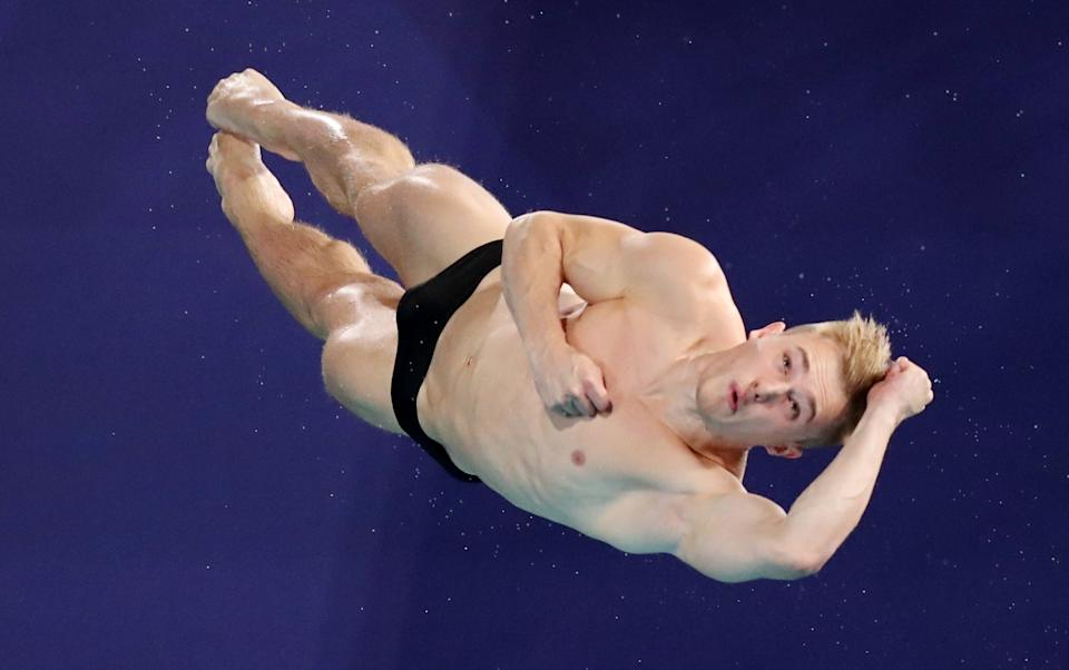 Laugher may not be Britain's most recognisable diver, but he is the most successful (Picture: Reuters)