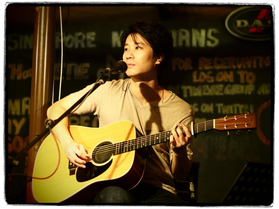 """<b><p>Alvin Khoo, 33</p></b> <b><p>Guitarist, singer/songwriter</p></b> <br> <p>Alvin of 53A, a multi-faceted jazz, rock, contemporary guitarist and singer/songwriter, is well established in the local music scene. This talented and well sought after musician is a regular fixture at various local live music venues.</p> <br> <p>In addition to his repertoire in the local scene, Alvin has performed on multiple occasions in Melbourne with the Ain't Misbehavin Jazz Group.</p> <br> <p>As 1 of the 3 singer/songwriters featured on 53A's debut album, """"Settle The Kettle"""", Alvin played to a sold out crowd at the Esplanade Recital studio at the launch of the album. """"Settle The Kettle"""" has sold more than a thousand copies since its launch in September 2010 and has been featured on numerous publications and websites including a worldwide feature on TIME magazine.</p> <br> <p>Alvin performs regularly in the band 53A, both as a duo and as a full band. He has also had collaborations with other bands such as Jack & Rai and Melissa Tham (a popular jazz crooner). He also works closely with producer/singer/songwriter Don Richmond and in doing so has been featured on records of several acts such as Budak Pantai, Singapore Idols Sezairi Sezali and Sylvia Retonal.</p>"""