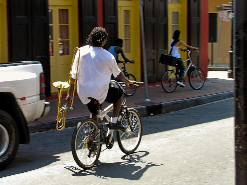 Bike share schemes are increasingly being rolled out in Louisiana: Flavio via Wikimedia Commons