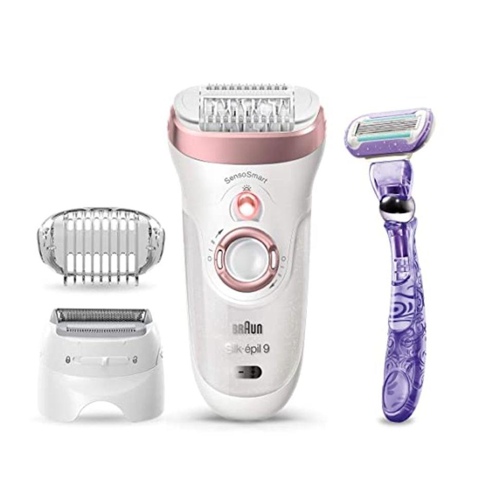 braun, best electric shavers for women