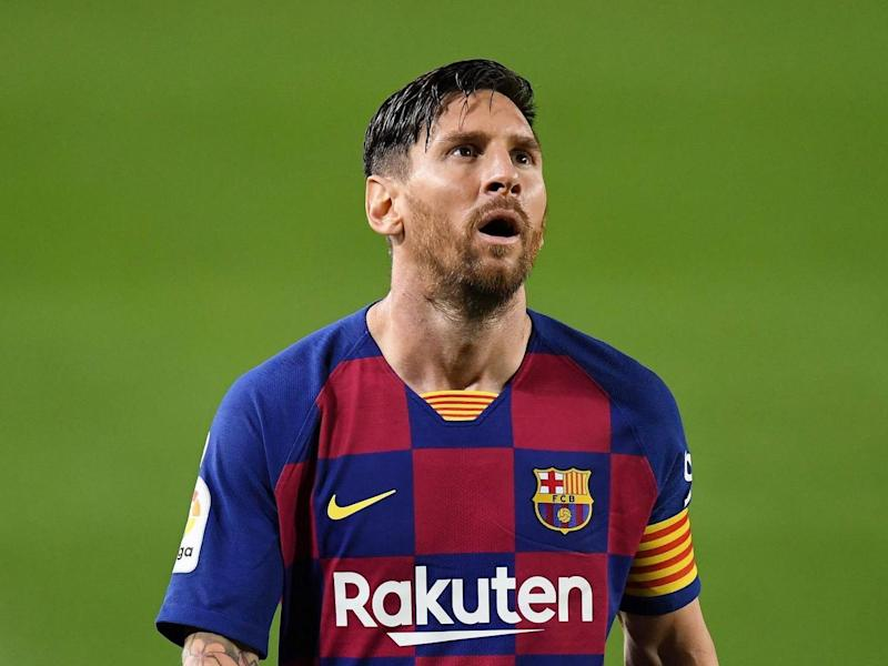 Barcelona captain Lionel Messi: Getty