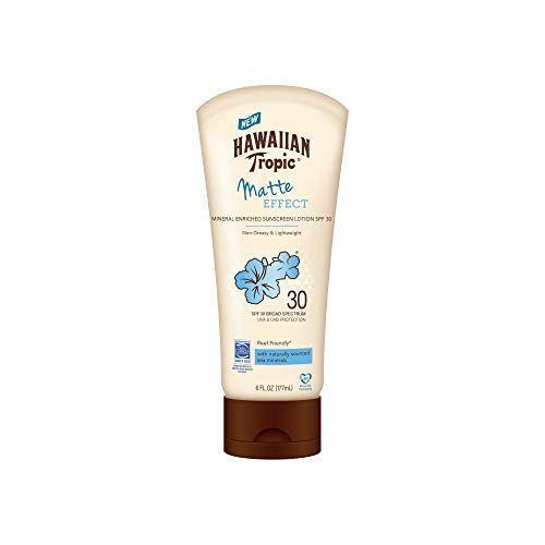 """<p><strong>Hawaiian Tropic</strong></p><p>amazon.com</p><p><strong>$10.58</strong></p><p><a href=""""https://www.amazon.com/dp/B07YP5VLMV?tag=syn-yahoo-20&ascsubtag=%5Bartid%7C10055.g.36098250%5Bsrc%7Cyahoo-us"""" rel=""""nofollow noopener"""" target=""""_blank"""" data-ylk=""""slk:Shop Now"""" class=""""link rapid-noclick-resp"""">Shop Now</a></p><p>Drugstore sunscreens are not only convenient to purchase, but they're also a budget-friendly option for the entire family. Testers loved the subtle coconut scent and grease- and ash-free finish that this Hawaiian Tropic lotion leaves on the skin. """"It has a nice, light scent that <a href=""""https://www.goodhousekeeping.com/home/cleaning/a32532/make-your-home-smell-good/"""" rel=""""nofollow noopener"""" target=""""_blank"""" data-ylk=""""slk:smelled like summer"""" class=""""link rapid-noclick-resp"""">smelled like summer</a>,"""" one tester says. """"<strong>It didn't ball up or pill when I wore makeup over the sunscreen.</strong>"""" </p>"""