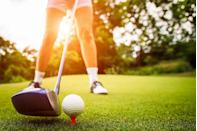 <p>Golfing may seem boring, but it can be fun with only a lesson or two beforehand. It can even be fun with no lessons at all — who doesn't love driving a golf cart, right? Challenge your family to a match and enjoy the gorgeous weather as the new season begins.</p>