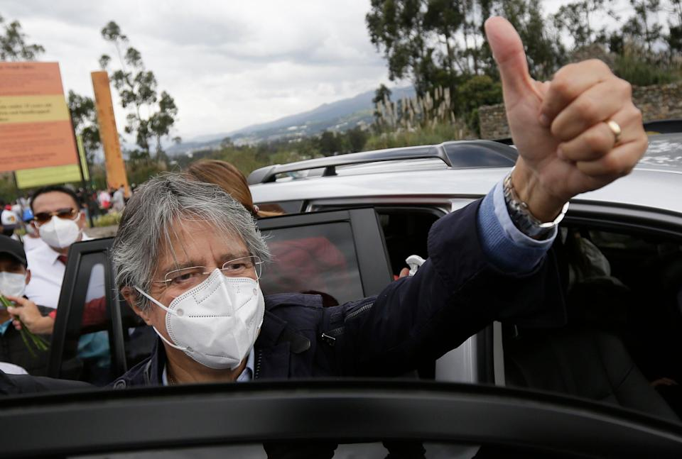 Ecuador Presidential Election (Copyright 2021 The Associated Press. All rights reserved)