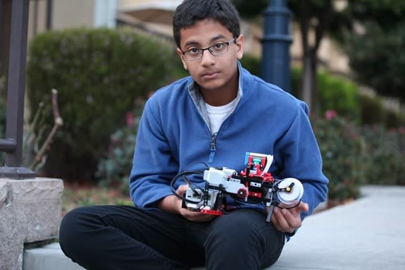 12-Year-Old Invents Braille Printer Using Lego Set