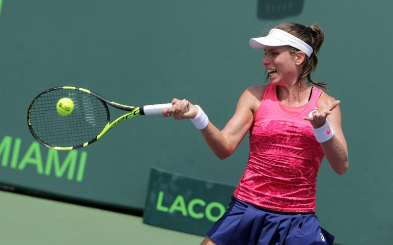 Johanna Konta - Credit: USA TODAY