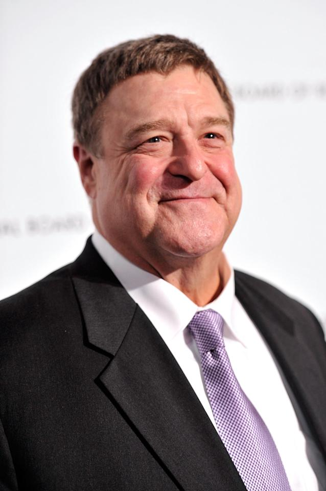 NEW YORK, NY - JANUARY 08:  Actor John Goodman attends the 2013 National Board Of Review Awards Gala at Cipriani 42nd Street on January 8, 2013 in New York City.  (Photo by Stephen Lovekin/Getty Images)