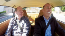 <p>One of Shandling's final on-camera appearances was riding shotgun alongside Jerry Seinfeld in the comedian's popular car-themed web series. The unfiltered joy on Seinfeld's face sums up the obvious pleasure so many experienced being in Shandling's company. </p><p><i>(Credit: </i><i>comediansincarsgettingcoffee.com</i><i>)</i></p>
