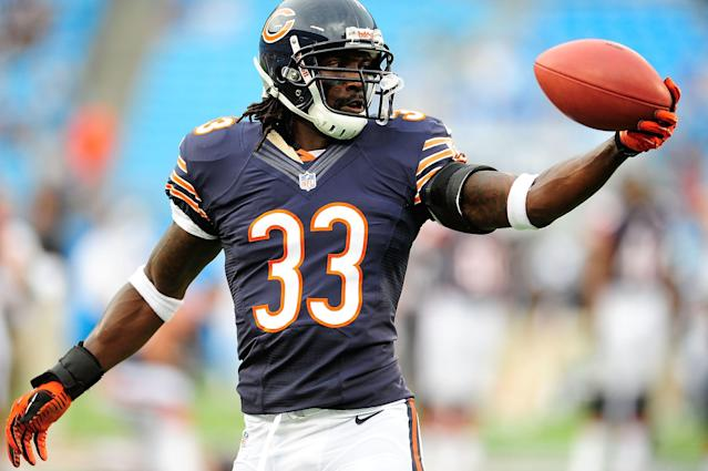 Charles Tillman is facing his fears for a good cause. (Photo by Grant Halverson/Getty Images)