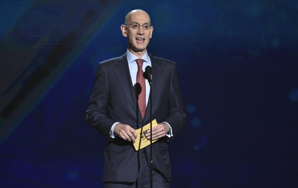 Adam Silver told reporters in Las Vegas on Tuesday that he believes it's time for the league to welcome 18-year-olds. (AP)