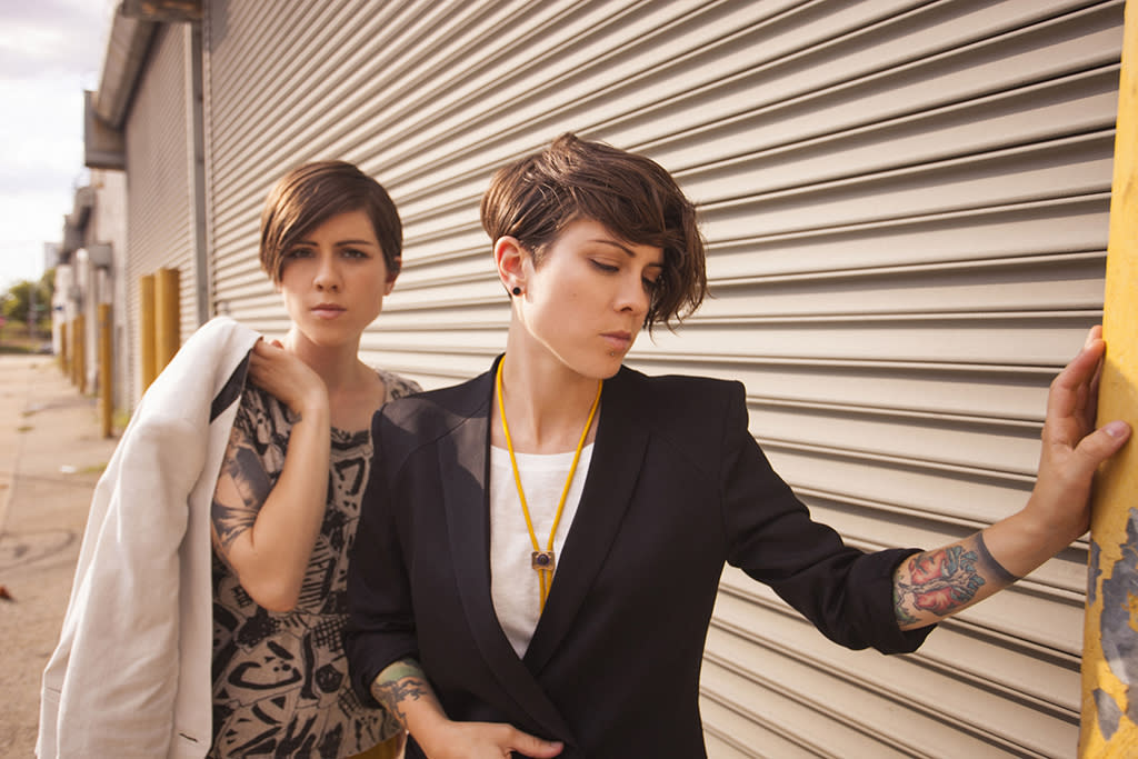 Tegan and Sara (courtesy of Warner Bros. Records)