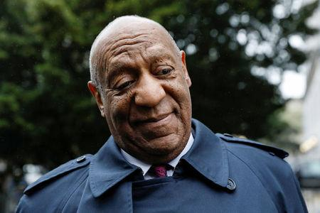 Actor and comedian Bill Cosby arrives for deliberations at his sexual assault retrial at the Montgomery County Courthouse in Norristown, Pennsylvania, U.S., April 25, 2018.  REUTERS/Brendan McDermid