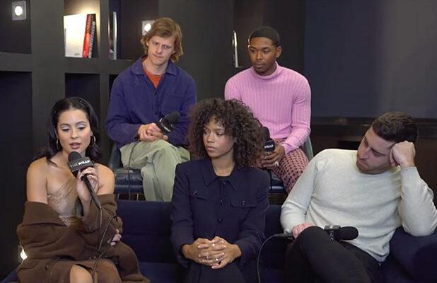 'Waves' Stars Kelvin Harrison Jr, Alexa Demie Tackle the 'Chaotic Emotion' and 'Innocence' of Their Lead Roles (Exclusive Video)
